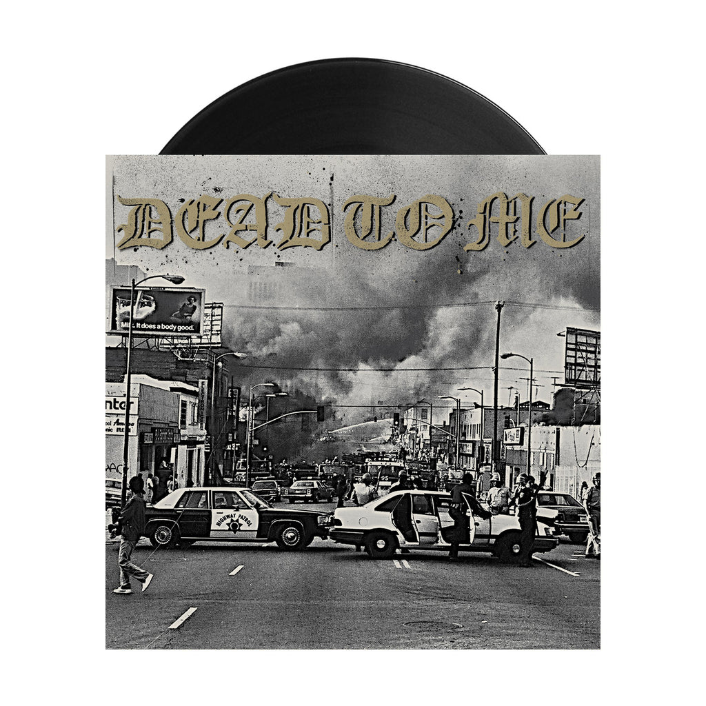 "Dead To Me - I Wanna Die in Los Angeles 7"" (Black)"