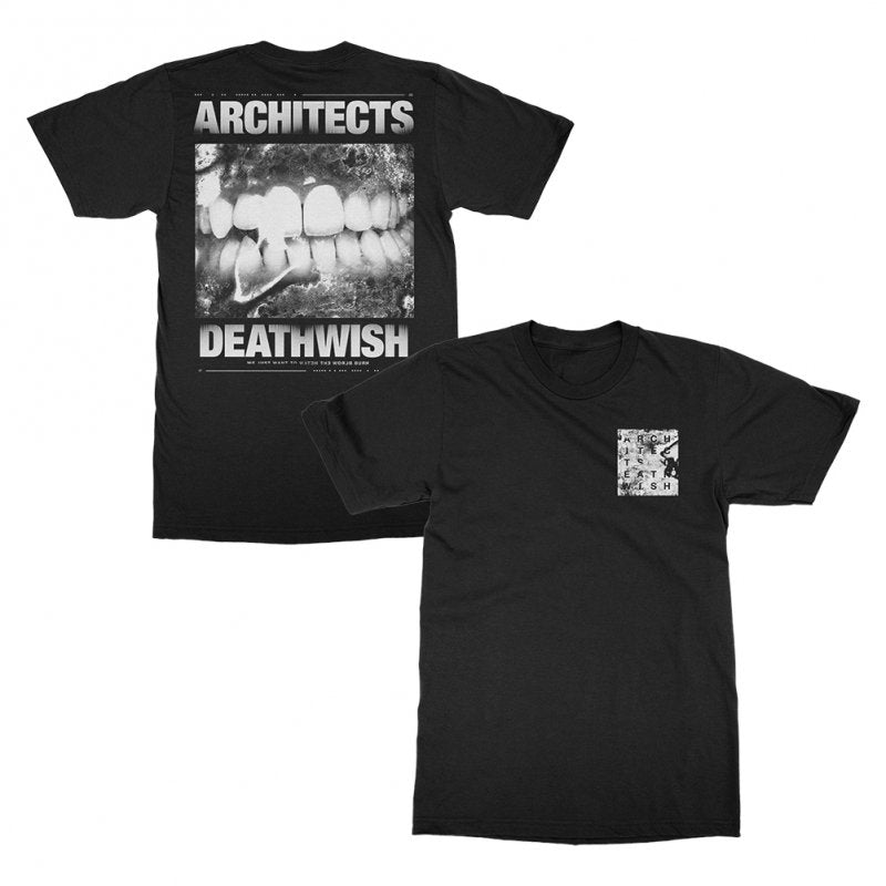 Architects - Deathwish T-shirt (Black)