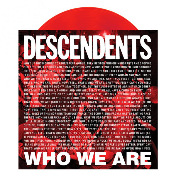 "Descendents - Who We Are 7"" (Red)"