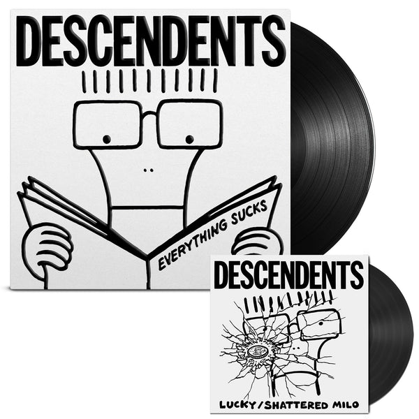 Descendents - Everything Sucks 20th Anniv. LP (Black 180gram) + 7""