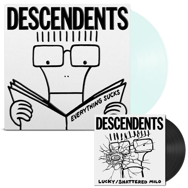 Descendents - Everything Sucks 20th Anniv. LP (Clear) + 7""