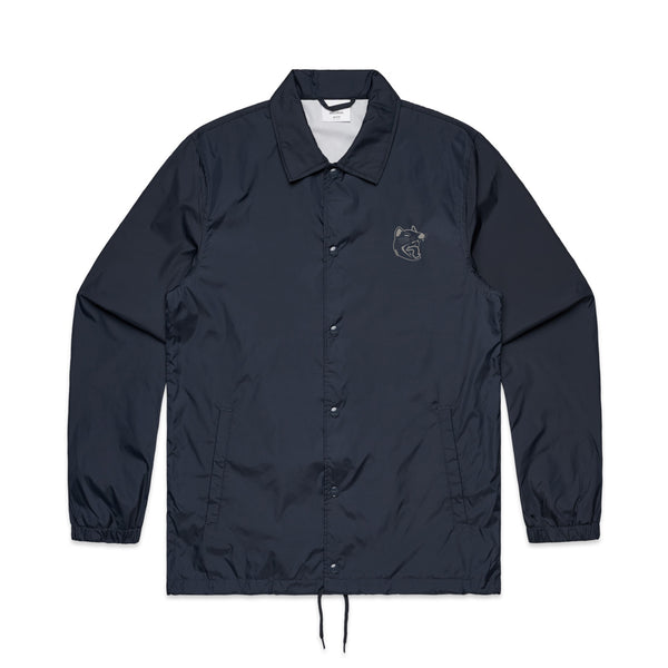 Luca Brasi - Devil Windbreaker (Navy) front