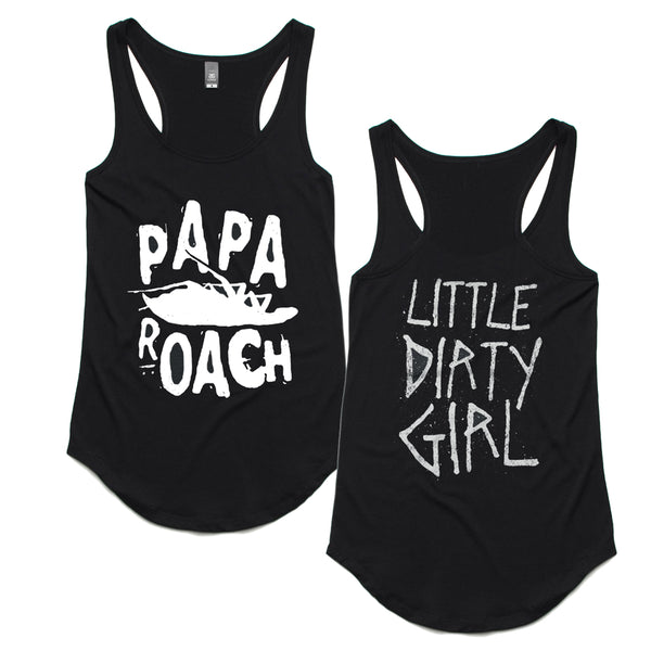 Papa Roach - Dirty Girl Racerback Tank