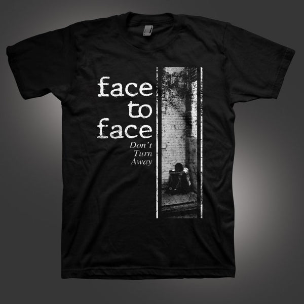 Face to Face - Don't Turn Away Tee Black