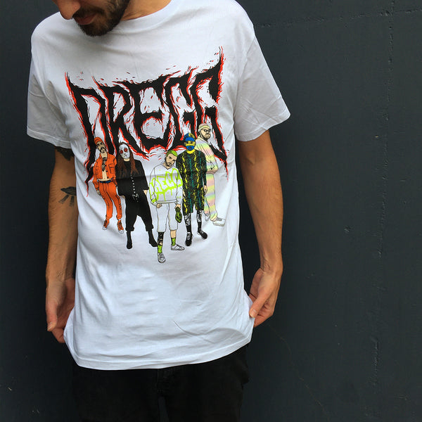 DREGG - Cartoon Tee (White)