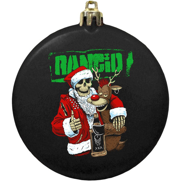 Rancid – Drunken Santa Ornament