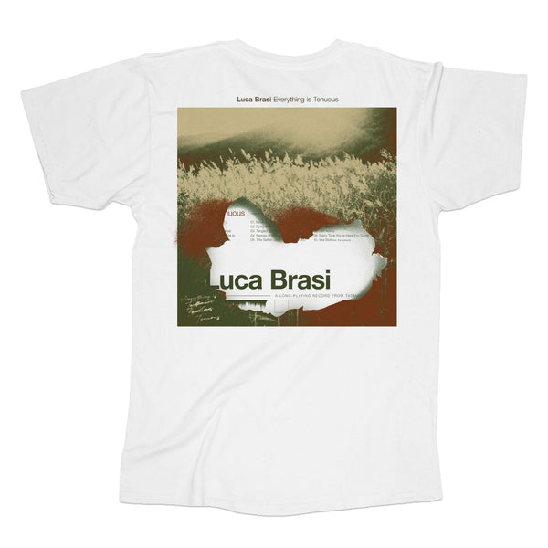 Luca Brasi - Everything Is Tenuous Cover Tee (White) back