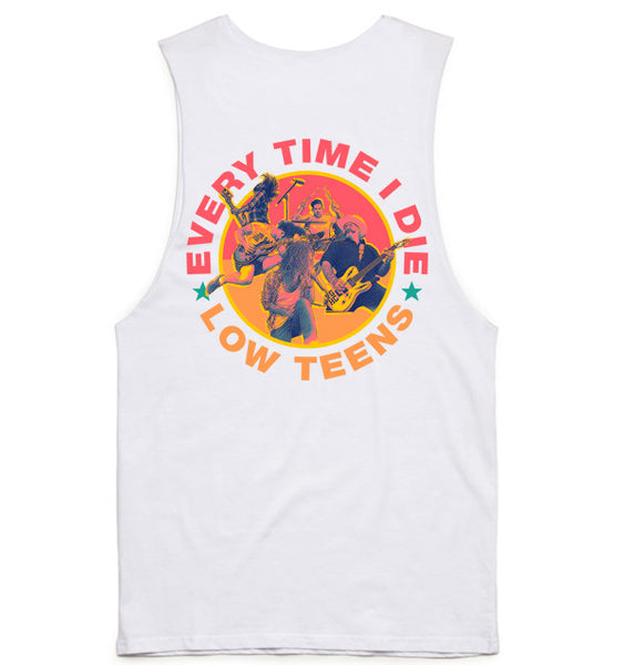 Every Time I Die - Low Teens Muscle Tank White