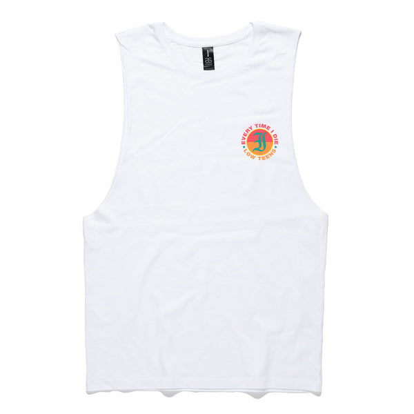 Every Time I Die - Low Teens Muscle Tank White Front
