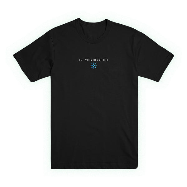 Eat Your Heart Out - Florescence Tee (Black)