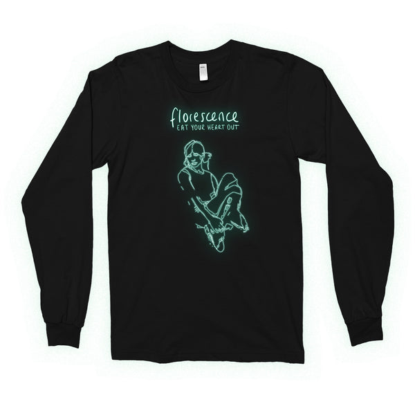 Eat Your Heart Out - Florescence Longsleeve (Black)