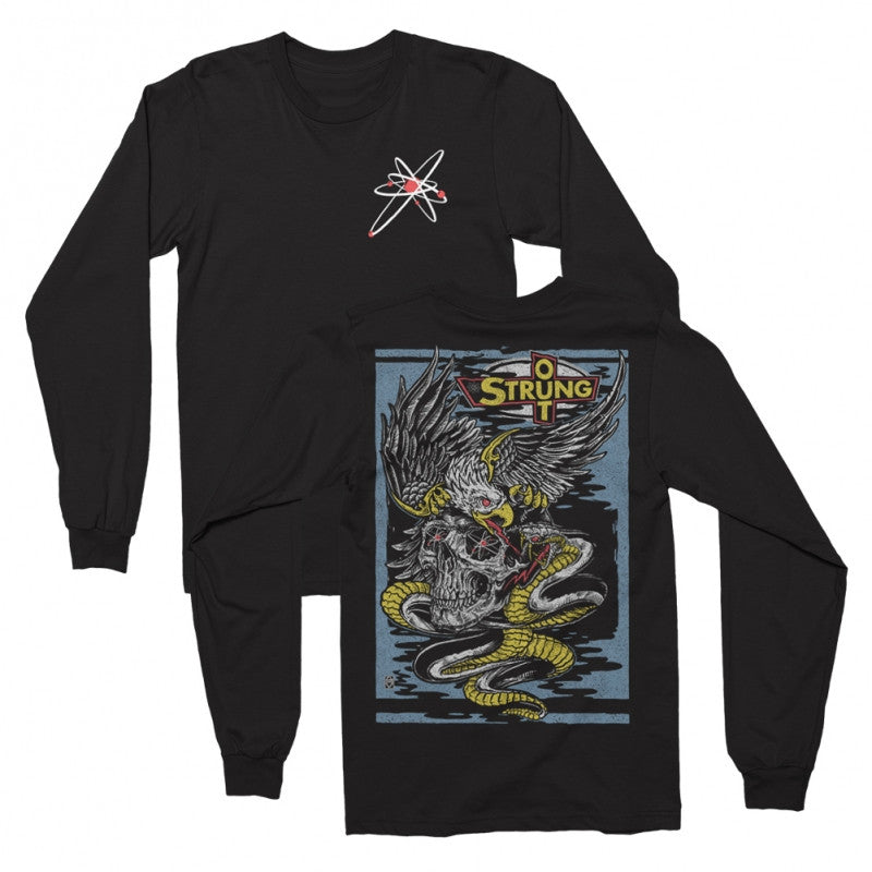 Eagle Longsleeve T-shirt (Black)