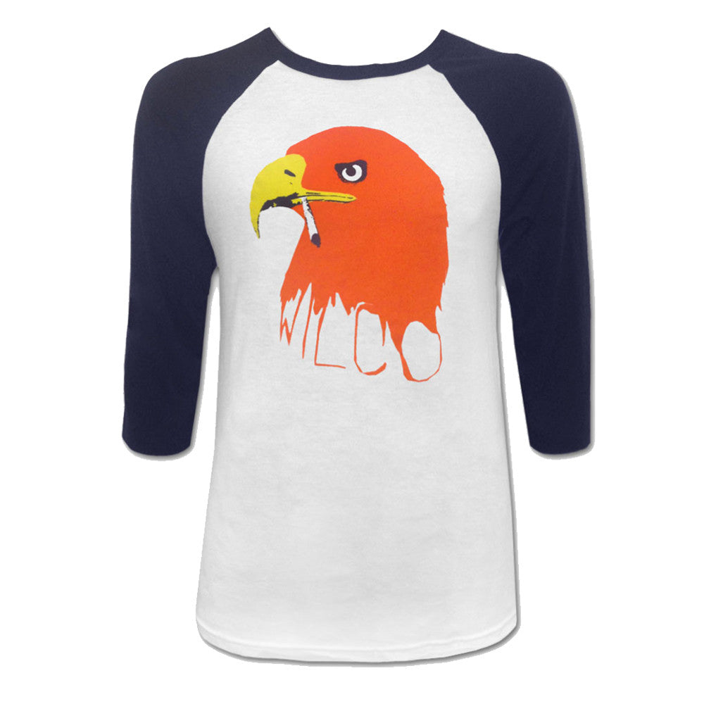 Wilco - Eagle Raglan (White/Navy)