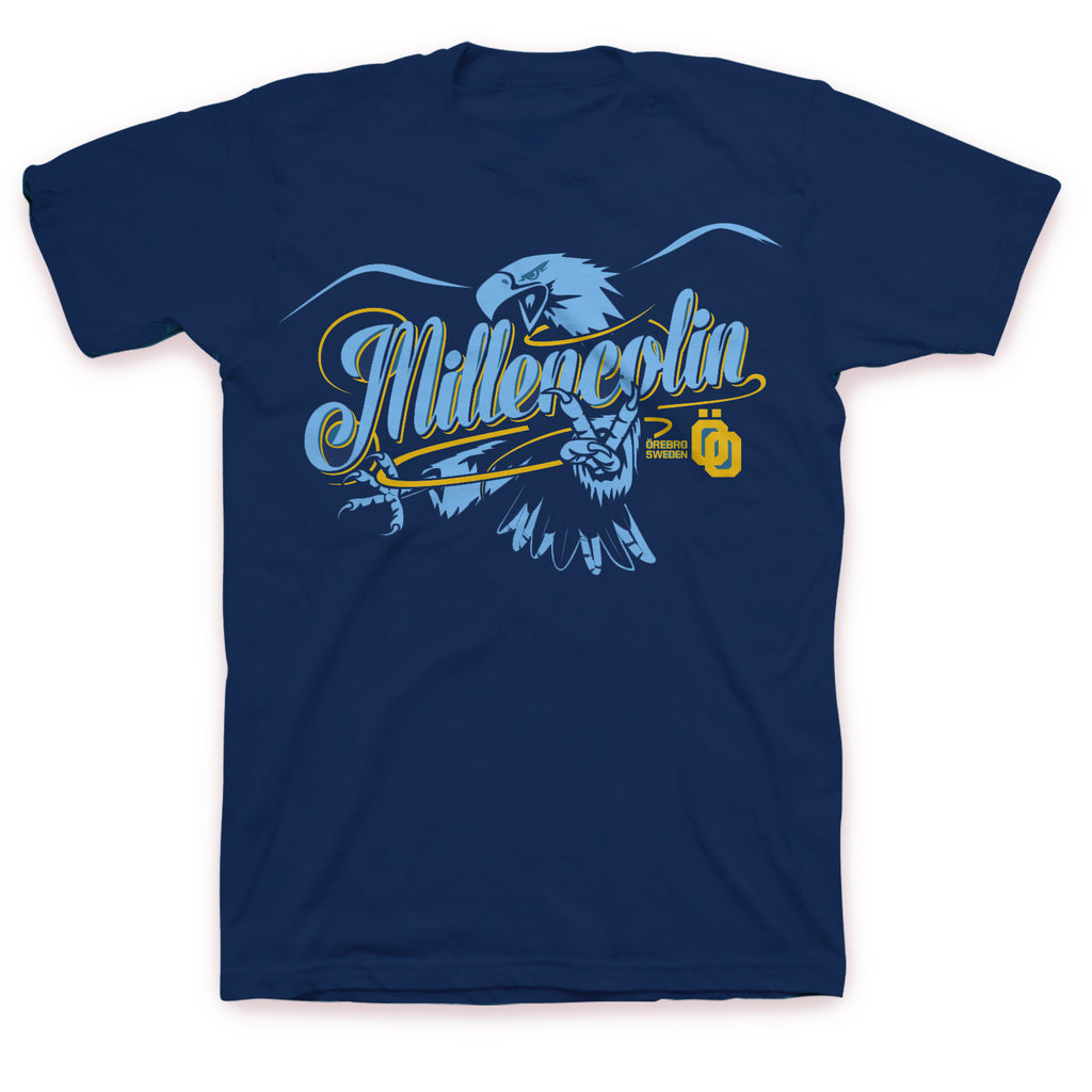 Millencolin Eagle Script T-shirt Navy
