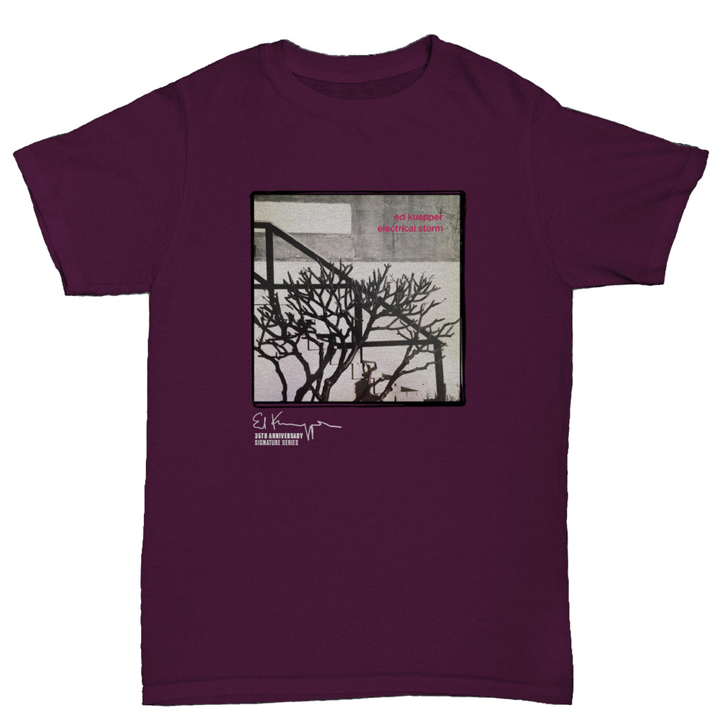 Ed Kuepper - Electrical Storm T-shirt (Maroon)