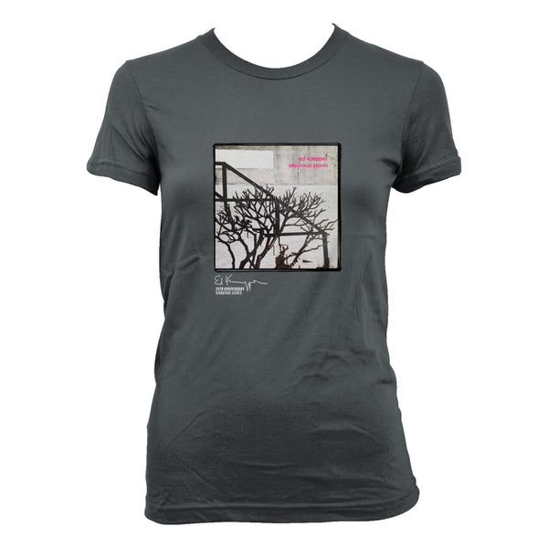 Ed Kuepper - Electrical Storm Womens T-shirt (Charcoal)