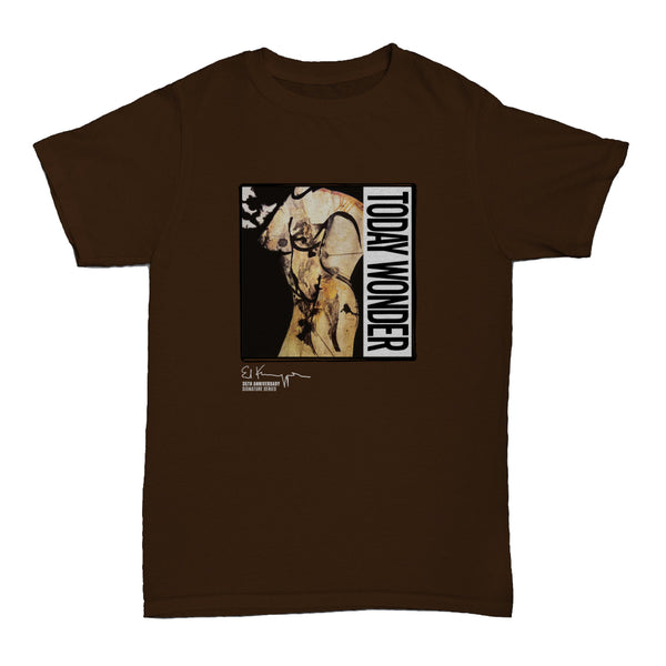 Ed Kuepper - Today Wonder T-shirt (Brown)