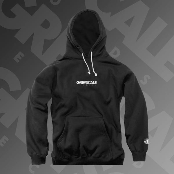 Greyscale Records - Embroidered Logo Pullover Hoodie