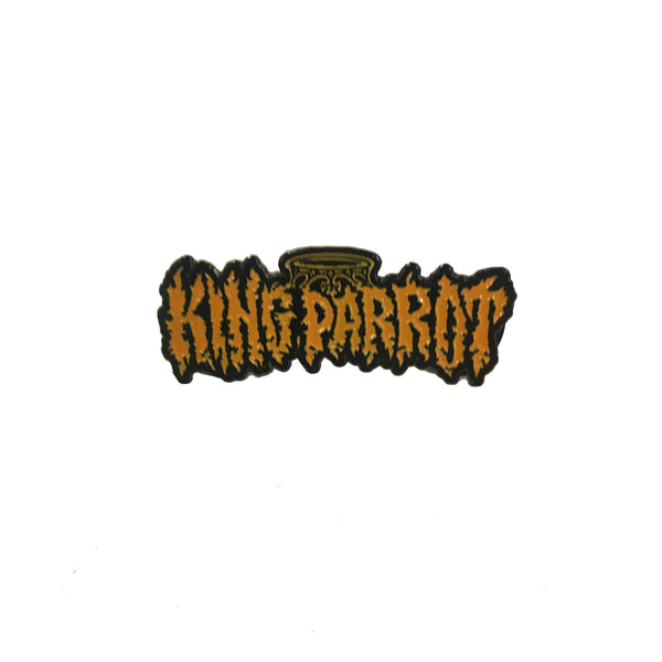 King Parrot - Logo Enamel Pin