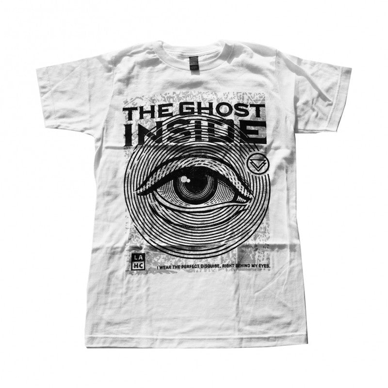 The Ghost Inside Eye T White
