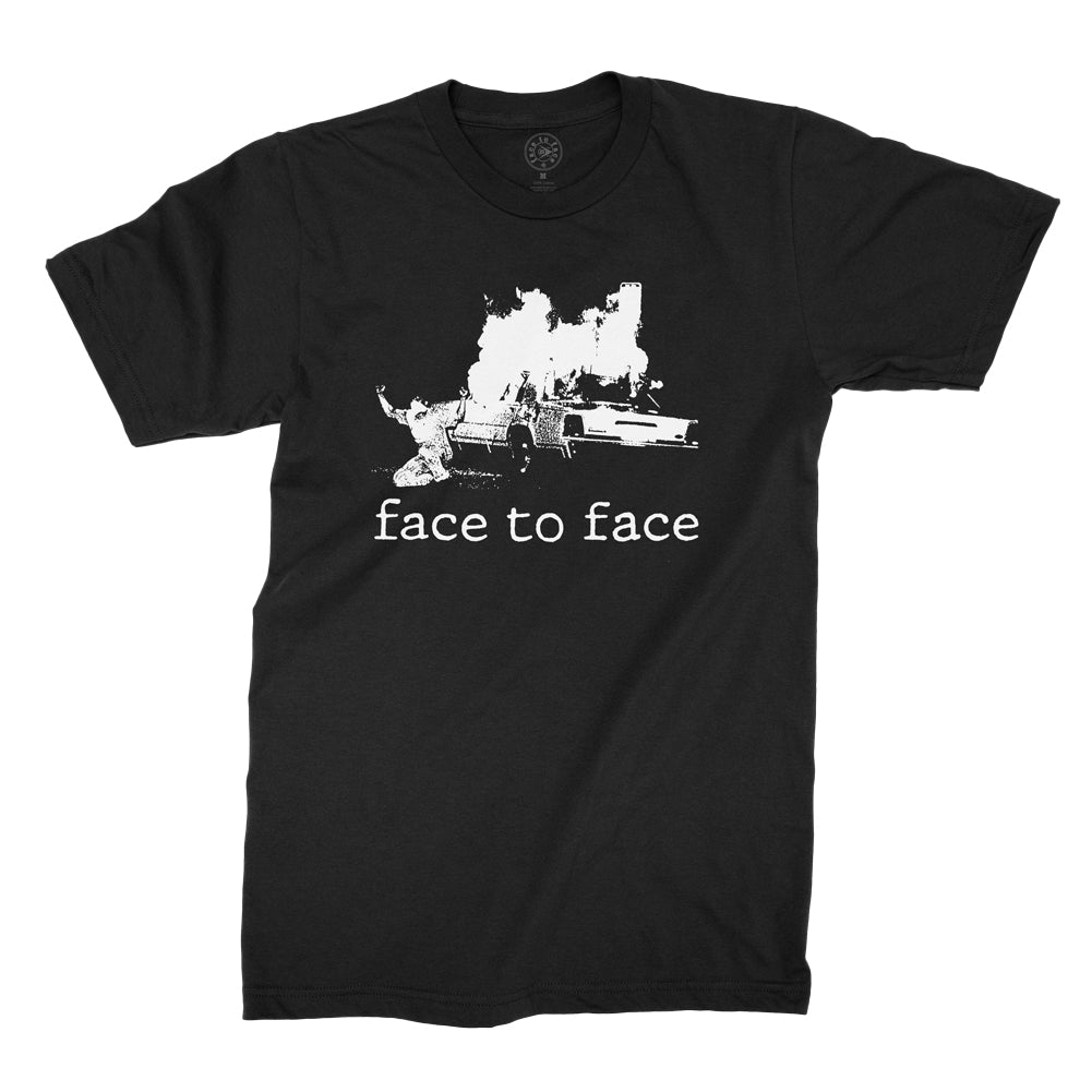 Face To Face - No Authority T-shirt (Black)