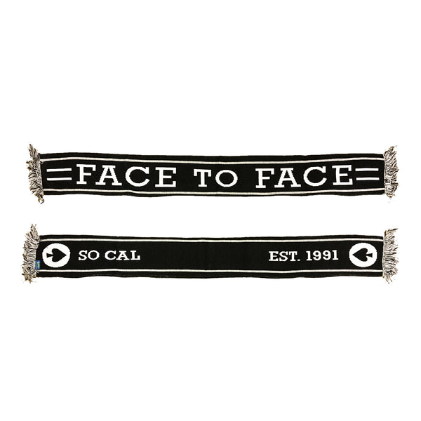 Face to Face - Est. 1991 Scarf