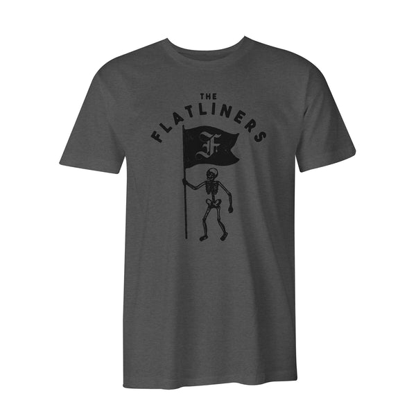The Flatliners - Skeleton Flag T-Shirt