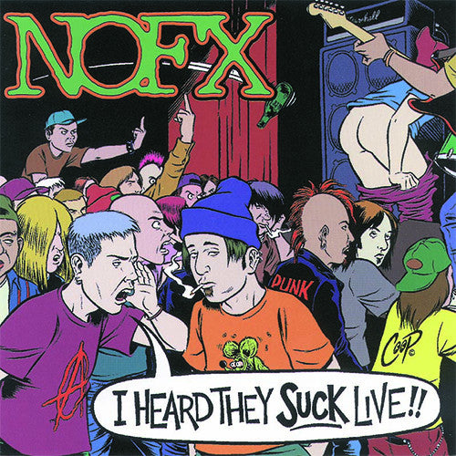 NOFX I Heard They Suck Live CD