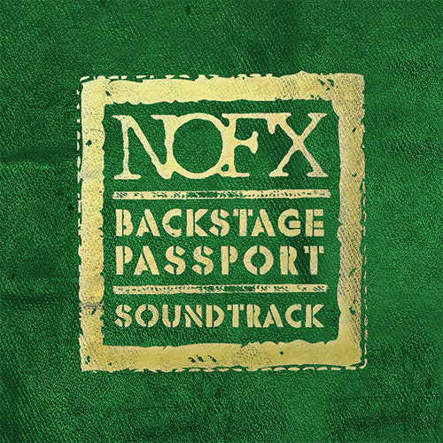 NOFX Backstage Passport Soundtrack CD