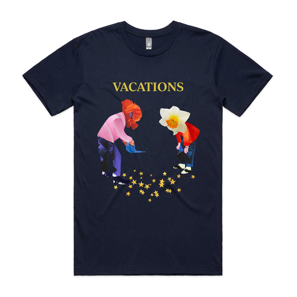 Vacations Forever In Bloom Tee (Navy)