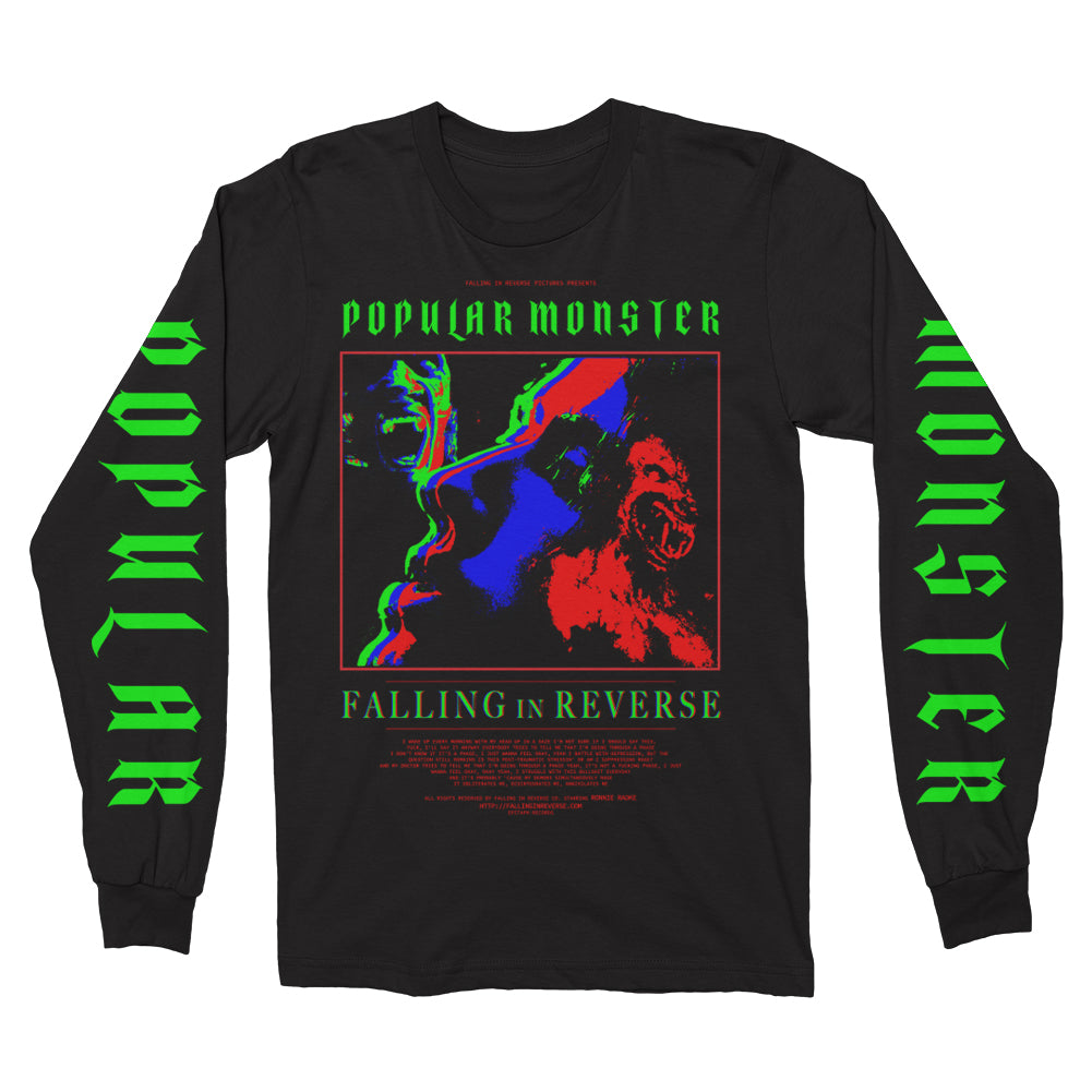 Falling In Reverse - Infrared Movie Poster Long Sleeve (Black)
