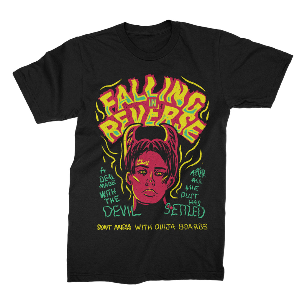 Falling In Reverse - Deal With The Devil Tee (Black)