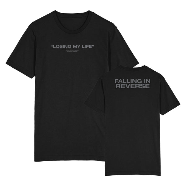 Falling In Reverse - Losing My Life Tee (Black)