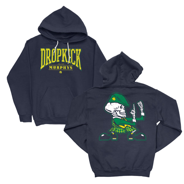 Dropkick Murphys – Fist Up Pullover Hoodie (Navy)