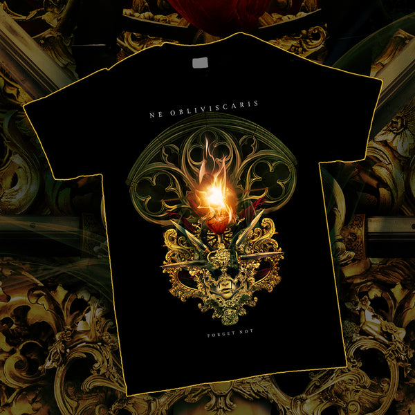 Ne Obliviscaris - Forget Not T-shirt (Black)