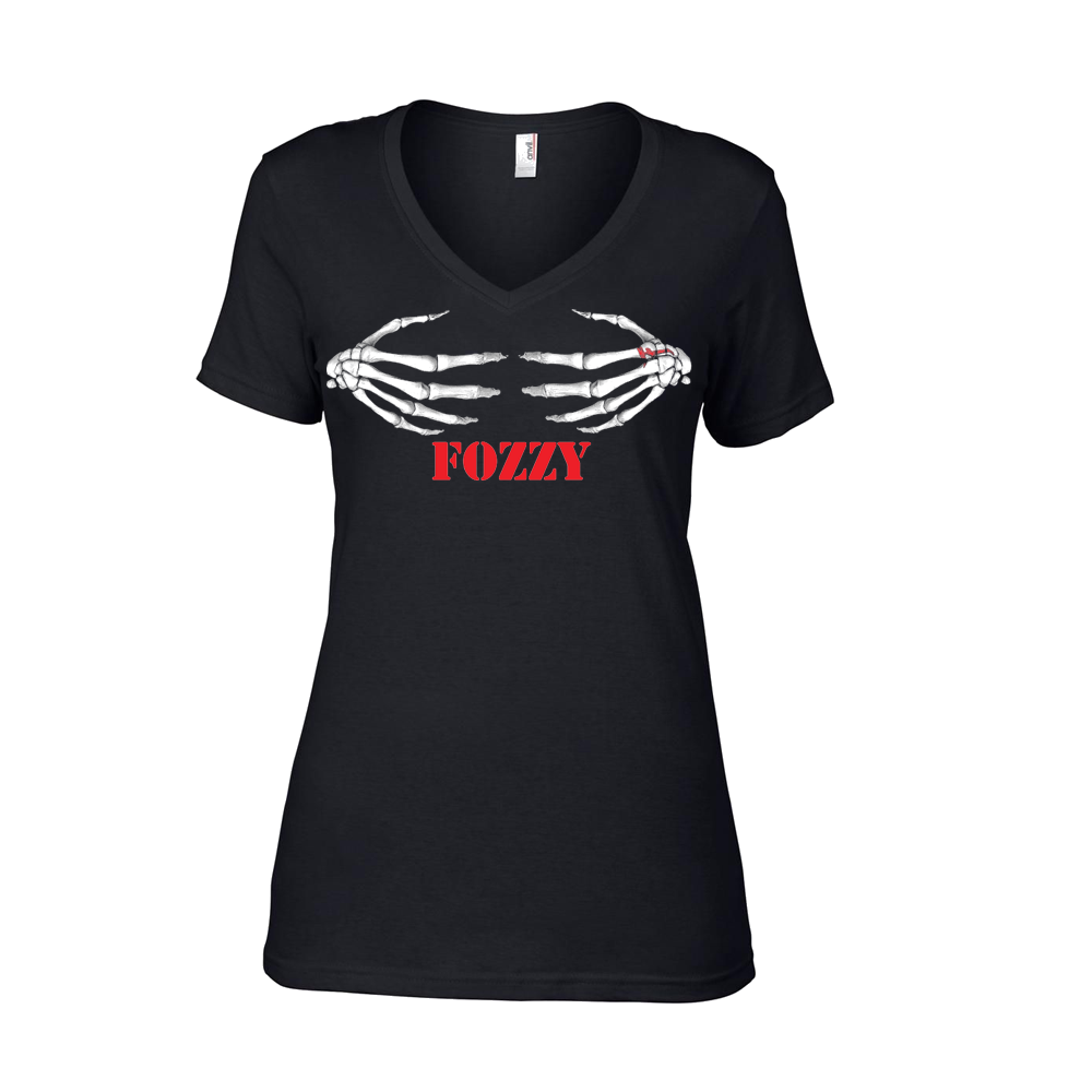 Fozzy - Skele-hands Womens Tee (Black)