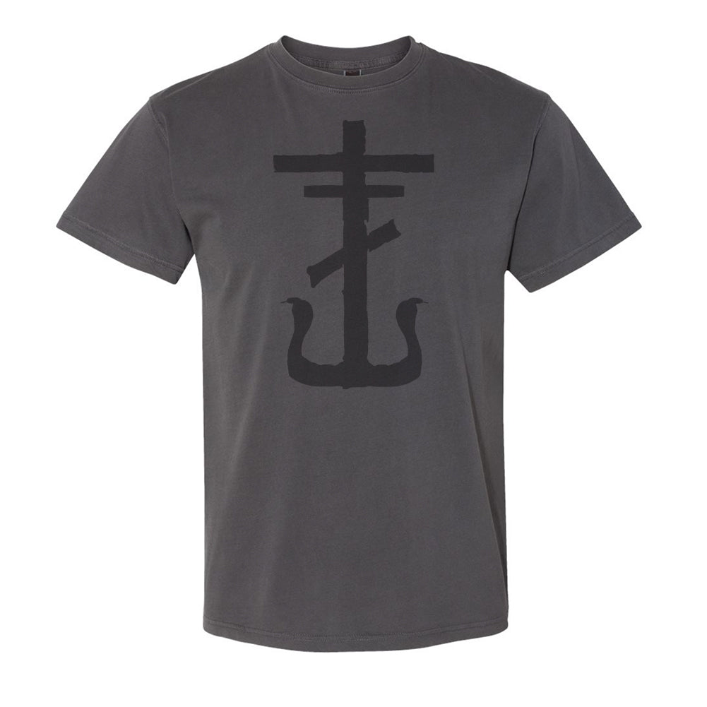Frank Iero - Cross Tee (Faded Black)