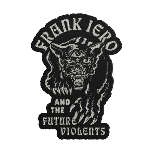 Frank Iero and the Future Violents - Panther Die Cut Patch