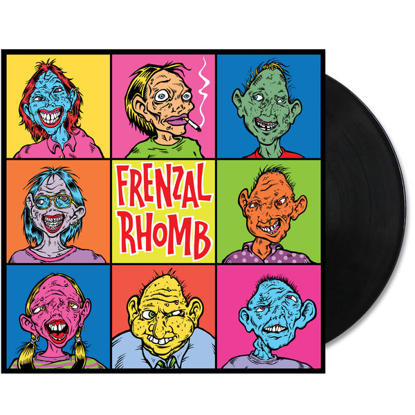 Frenzal Rhomb - Meet The Family LP (Black)
