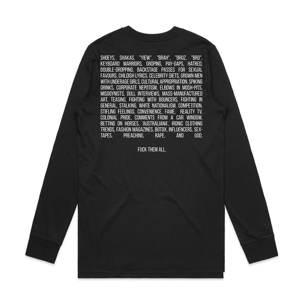 A. Swayze & The Ghosts - FTA Longsleeve (Black)