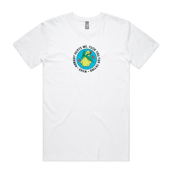 WAAX - F U T-shirt (White)
