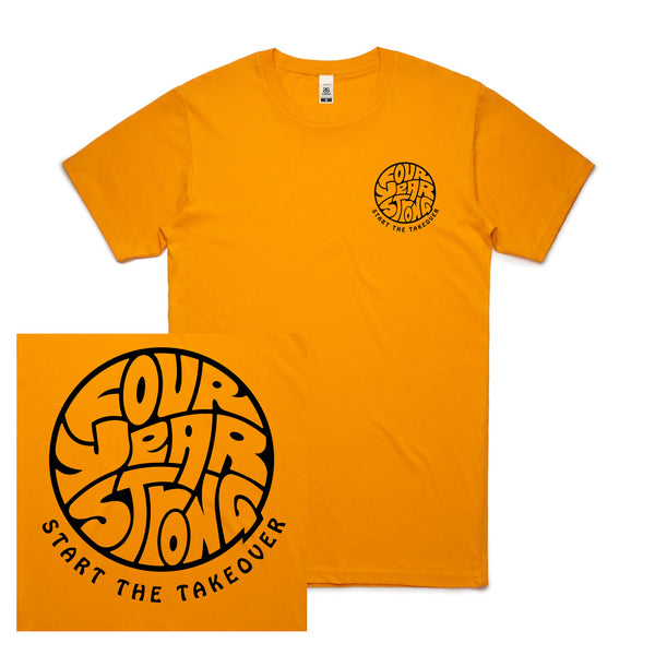 Four Year Strong - Take Over Tee (Gold)