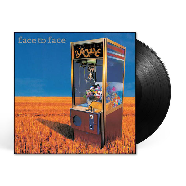 Face To Face Big Choice Reissue LP Black