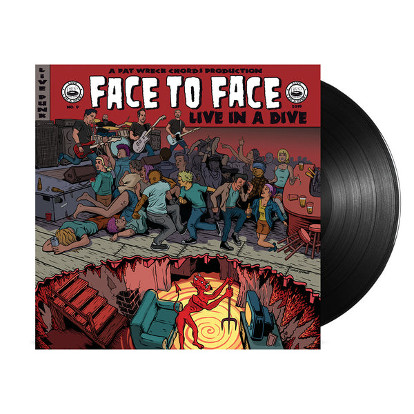 Face To Face - Live In A Dive LP (Black)