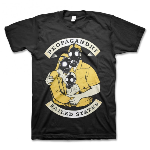 Propagandhi Family Gas Mask T-shirt