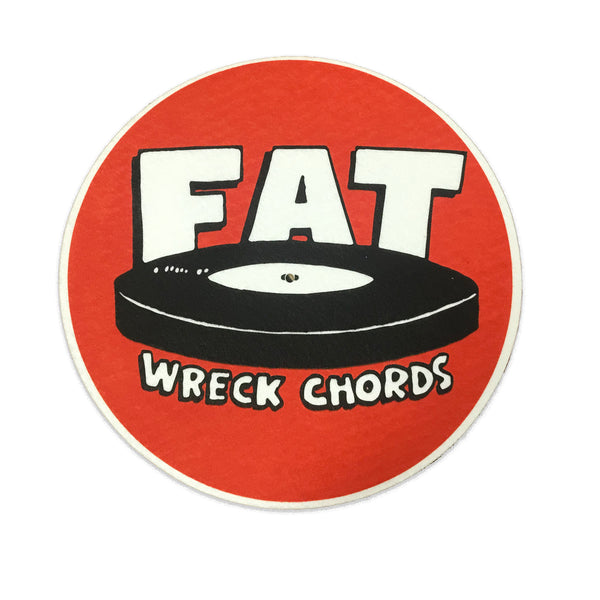 Fat Wreck Chords - Logo Slipmat (Red)