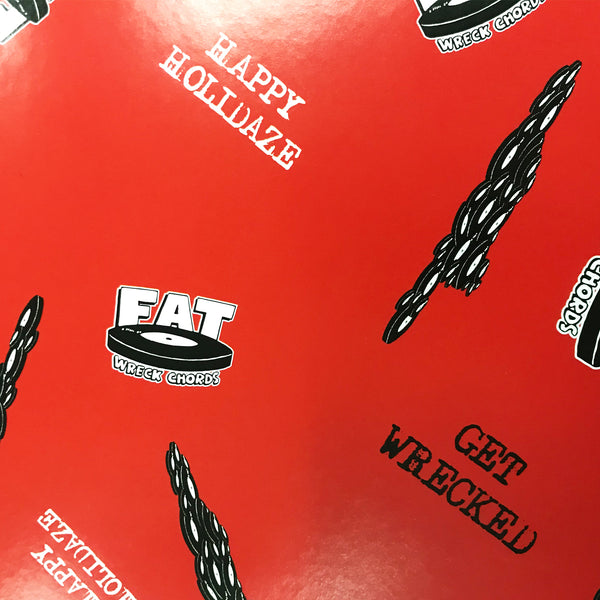 Fat Wreck Chords - Wrapping Paper details