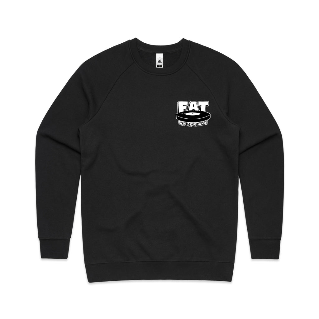 Fat Wreck Chords - Logo Crewneck (Black)
