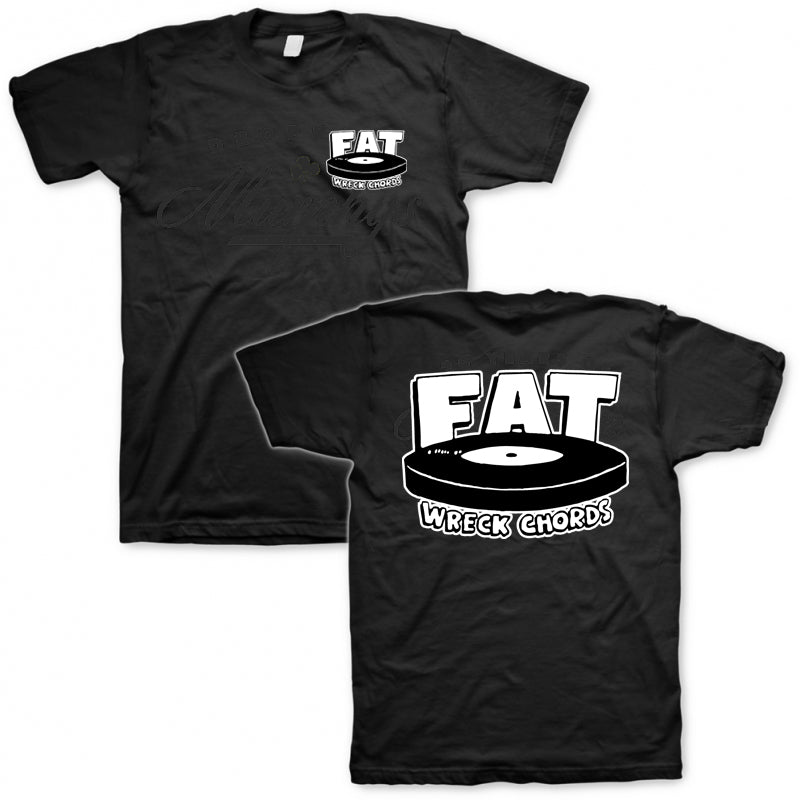 Fat Wreck Chords - Fat Logo T-shirt (Black)