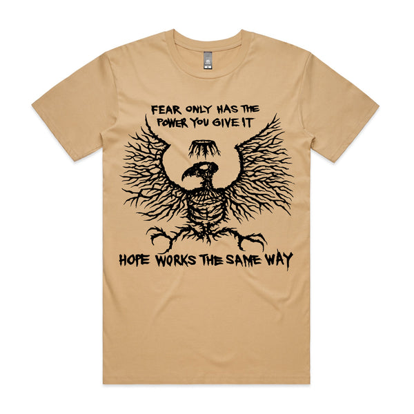 King Parrot - Fear Only Tee (Tan)